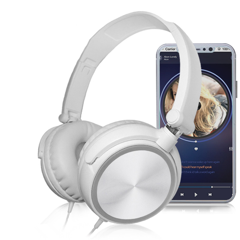 Wired Headphones With Microphone Over Gaming Ear Headsets Bass HiFi Music Stereo Earphone For Sony Xiaomi Huawei PC XBOX PS WII