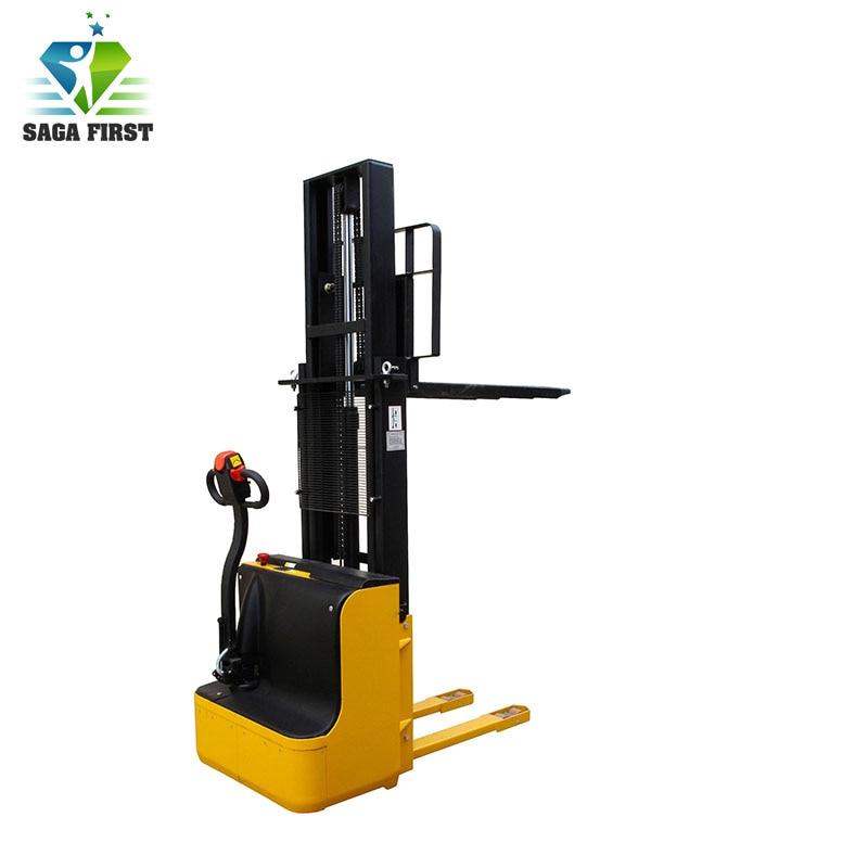 2.5m 3.1m Electric Forklift  Cargo Transport Handling Tools Pallet Stacker