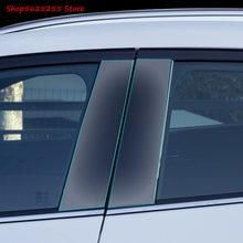 TPU przezroczysta folia ochronna dla Mazda CX30 CX-30 2020 2021 2019 centrum filar przedni trójkątne naklejki dekoracji samochodu