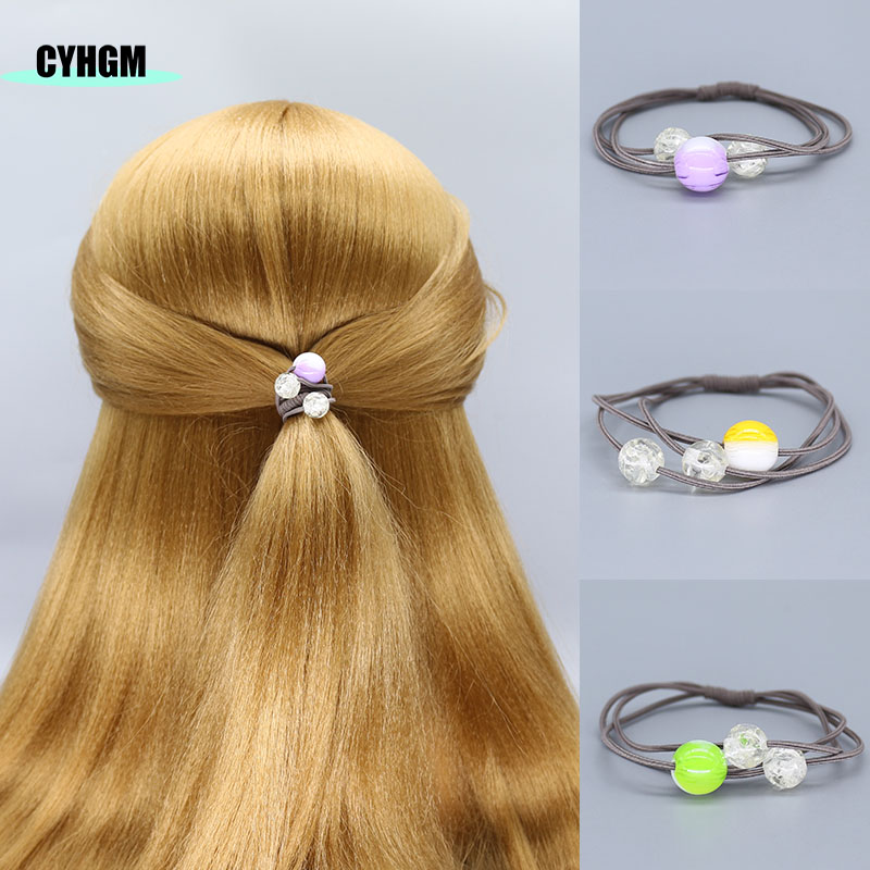Elastic Hair Bands Girls Hair Band Hair Ties Schrunchies Elastique Cheveux Kids Hair Accesorios Brand F06-5