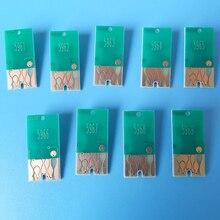 Сбрасываемый чип для epson stylus pro 7890 9890 чернильный картридж T5961-T5969 9 цветов