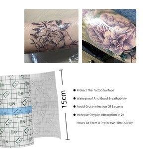 Image 2 - 10 メートルアクセサリー用品保護通気性タトゥー後ケアタトゥー包帯ソリューション Flm 入れ墨保護