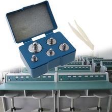 5Pcs 105 Grams Precision Calibration Scale Weight Digital Set 5g 10g 2x20g 50g