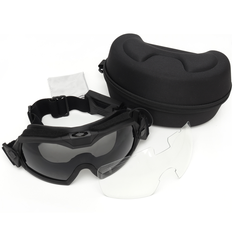Tactical Regulator Goggle With Fan Fog Proof Goggles for Airsoft Paintball Outdoor Sport Eyewear Eye Protection Glasses