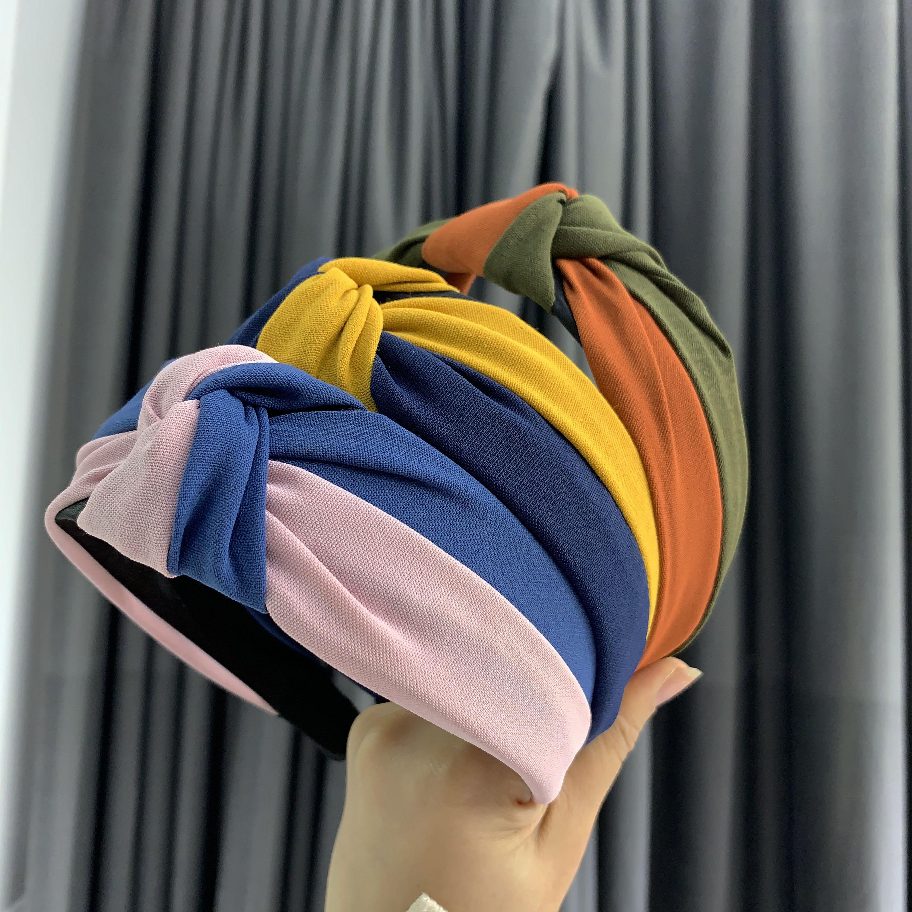 CHENYAN Fashion Ladies Headband Girl Sweet Hairband Women Patchwork Headbands XLFG1915