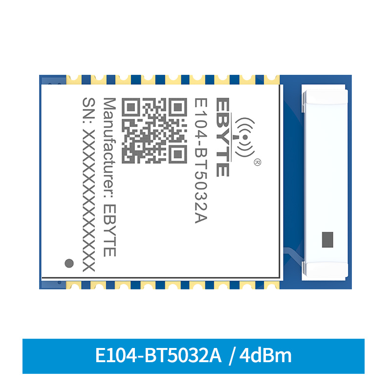 BLE5.0 NRF52832 Bluetooth Module  4dbm Serial To BLE SMD E104-BT5032A Ceramic Antenna Wireless Transceiver Module
