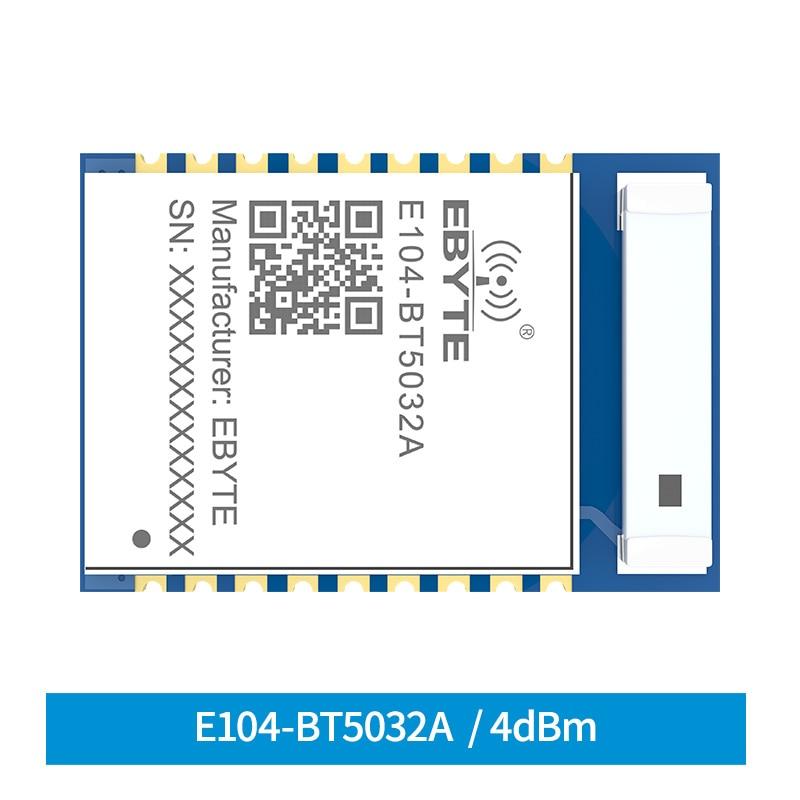 BLE5.0 NRF52832 Bluetooth Module  4dbm Serial To BLE SMD E104-BT5032A Ceramic Antenna Wireless Transceiver Module