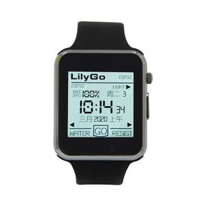Image 5 - LILYGO®TTGO T Watch 2020 ESP32 الشريحة الرئيسية 1.54 بوصة تعمل باللمس للبرمجة يمكن ارتداؤها التفاعل البيئي