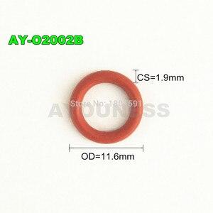 Image 4 - 무료 배송 200 조각 연료 인젝터 상단 oring 7.8*1.9mm 고무 씰 도요타 마쓰다 수리 키트 ASNU17 (AY O2002B)