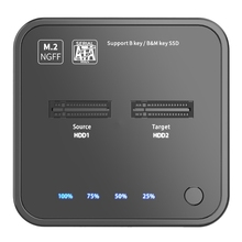 MAIWO K3016 M.2 Solid State Drive Duplicator SATA Protocol Copy Dock Offline Copy Online Read/Write Hard Drive for Computer