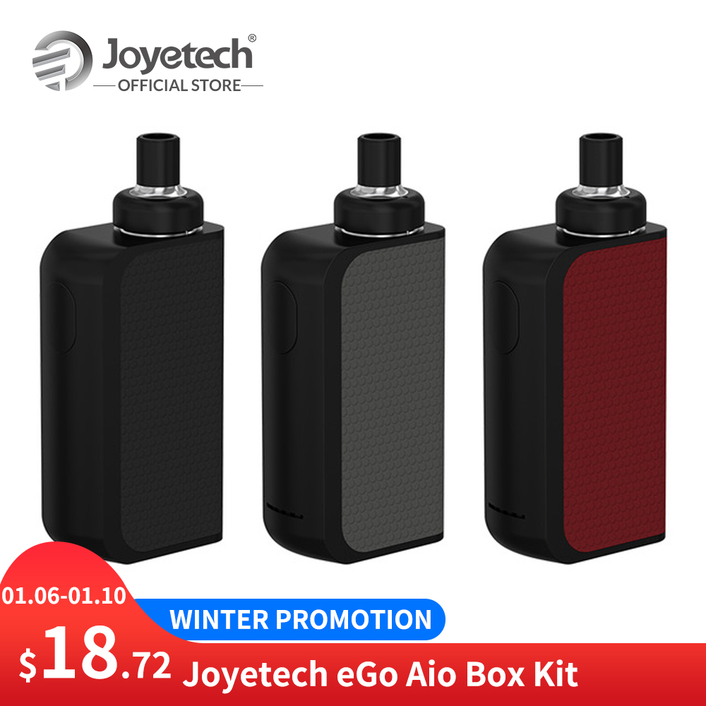 FR/ES Warehouse Original Joyetech EGo Aio Box Kit With 2100mAh Built-in Battery 2ml Capacity BF SS316 Coil Electronic Cigarette