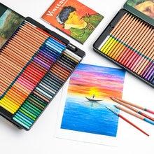 M & G acuarela Pencils100/72/48/36/24 profesional soluble en agua, lápiz de color de Marco RenoiPainting dibujo boceto arte conjunto