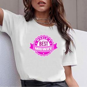 Топы, футболки, женские миры, лучшие акушерки, доставка для малышей, свободная, с круглым вырезом, винтажная, на заказ, женская футболка