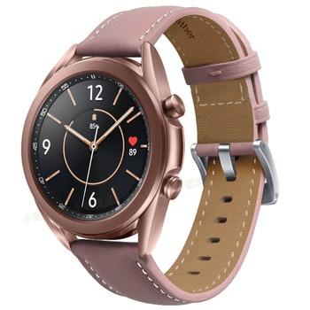 Ремешок для часов кожаный, 20-22 мм 5