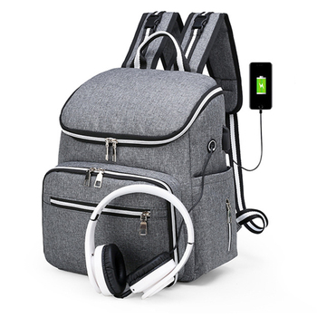 Diaper Bag Waterproof Backpack For Moms Mummy Large Capacity Baby Bag Mommy Maternity Bag Baby Stroller Organizer Nappy Wet Bags