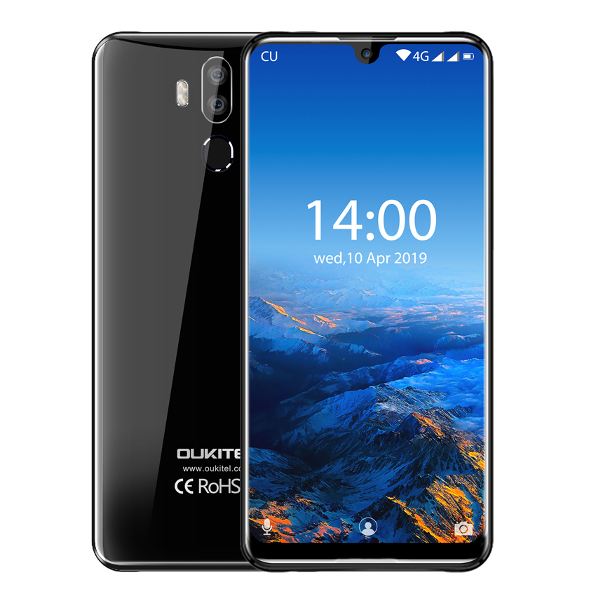 """OUKITEL K9 7.12"""" FHD+ 1080*2244 cell phone 16MP+2MP/8MP 4G Smartphone Face ID 6000mAh 5V/6A Quick Charge phones OTG mobile phone"""