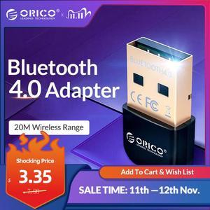 Image 1 - Orico Usb Bluetooth Dongle Adapter 4.0 Mini Draadloze Bluetooth Audio Receiver Zender Voor Pc Computer Laptop Speaker Muis