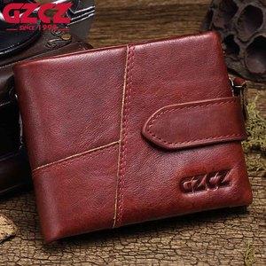 Image 2 - GZCZ 2020 hakiki deri cüzdan kadınlar için cüzdan kadın lüks inek deri iş kadın çantası hakiki deri çanta