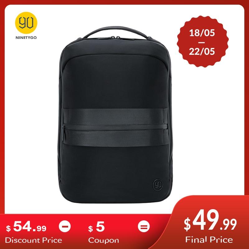 NINETYGO 90FUN NEW Manhattan Business Lecture Backpack For Men Modern Luxury Laptop Travel Mochila Camouflage Black