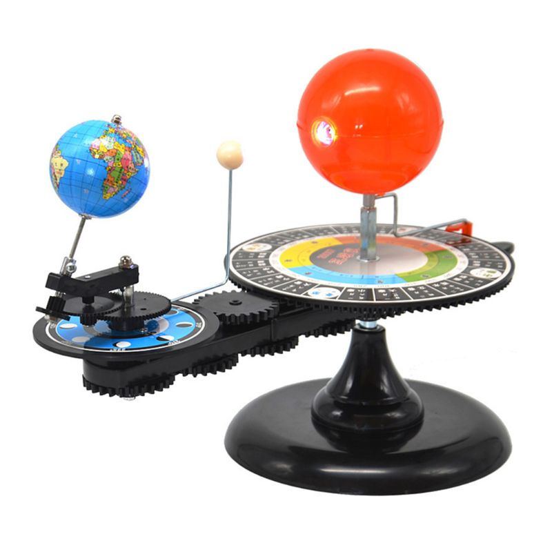 Solar System Sun Earth Moon Orbital Planetarium Model Education Teaching Tool