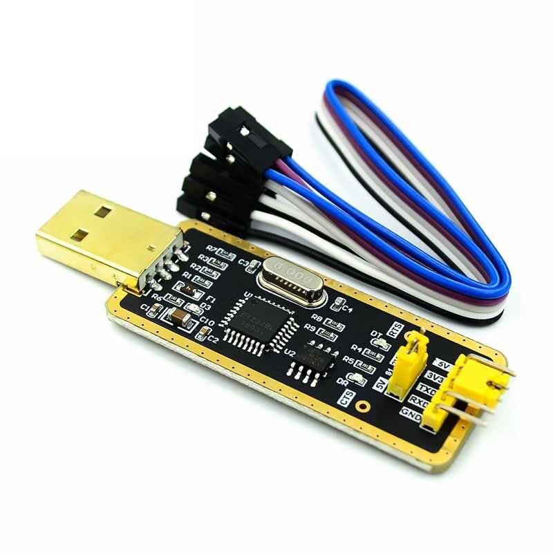 Кабель-адаптер FT232 FT232BL FT232RL USB 2,0 для скачивания уровня TTL для модуля адаптера последовательной платы 5 в 3,3 В отладчик до 232 с поддержкой win10
