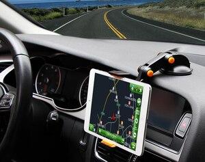 Tablet samochodowy uchwyt na telefon komórkowy do ipada Pro 11(2018) 9.7/10.2/10.5 iPad Air(2019) mini 4 3 2, do karty Galaxy s6 s5e s4 A 8.0 10.1