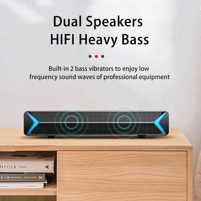 Kabel dan Nirkabel Speaker Home Theater Soundbar Bluetooth Bass Surround Subwoofer Portabel Stereo FM Radio