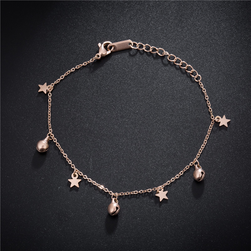 Anklets Cheville Leg Bracelet for Women Gold Chain Adjustable Sandals Jewelry Stainless Steel Beach Accessories Body Jewellery