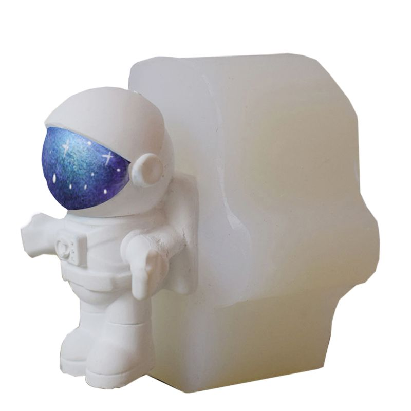 Space Ship Astronaut Figure Silicone Resin Mold Jewelry Making Tools Art Crafts
