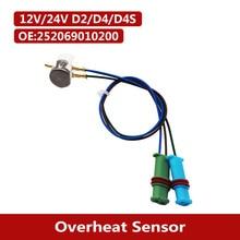 Araba dizel park isıtıcı aşırı isınma sensörü 252069010200 Fit Eberspacher 12V/24V Airtronic D2 D4 D4S