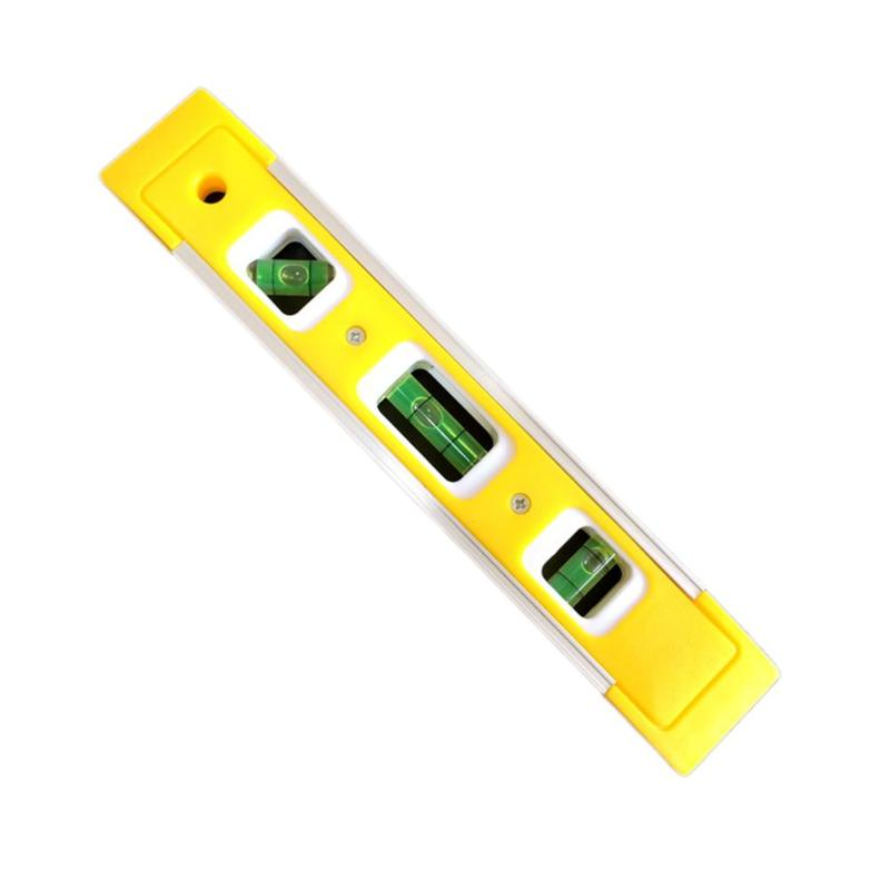 225mm High Precision Spirit Level High Bearing Ruler Lever Bubbles Rustproof Horizontal Ruler Spirit Level Vial With Magnetic