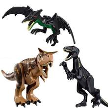 2020 NEW Jurassic World 2 Building Blocks Dinosaurs Bricks Tyrannosaurus Rex Indominus Rex I-Rex Dinosaurs Kids Toys()