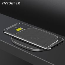 Kablosuz telefon şarj aleti Qi hızlı kablosuz şarj pad iPhone X 8 11 pro max Xiao mi mi 9 mi x3 Samsung Galaxy s6 S7 S8 S9