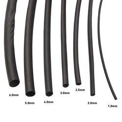 7 шт., выдвижной термоусадочный набор, 1/2/2.5/3/4/5/6 мм, термоусадочные трубки, обернутые плетеные кабели