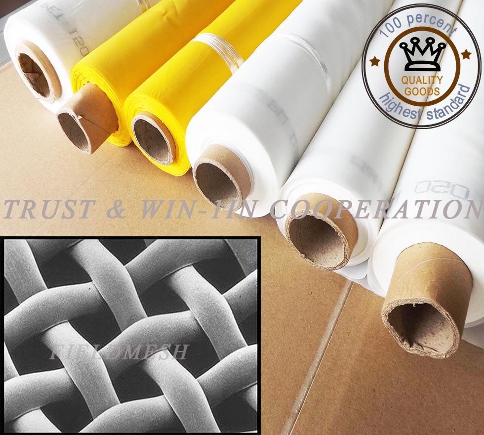 free shipping !!! 100mesh/39T-64um thread diameter textile printing mesh /fabrics with high tension