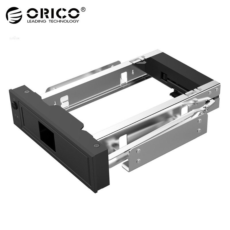 ORICO 1106SS CD-ROM Space 3 5inch HDD Frame Mobile Rack Computer Case Optical Drive Position Internal Hard Disk Enclosure HDD Case