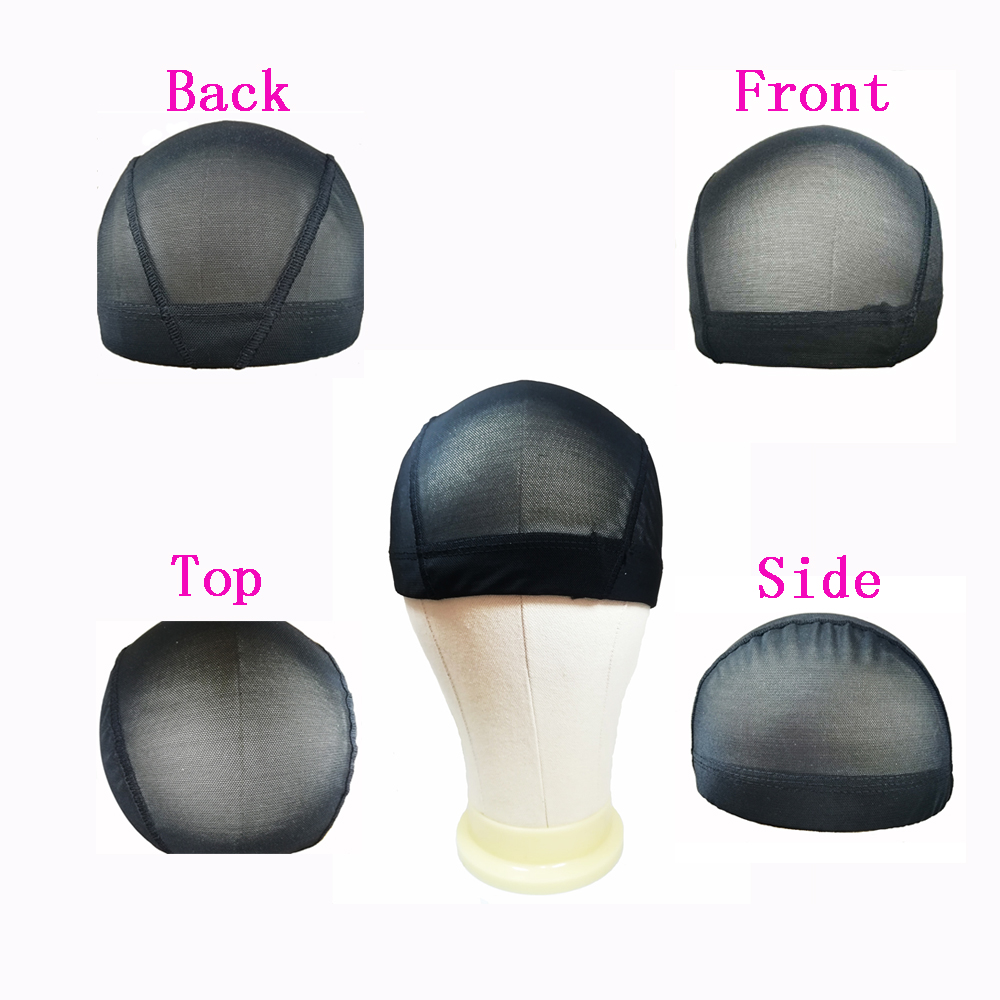 Spandex Dome Style Ultra Stretch Wig Cap Mesh Cap For Making Wigs Spandex Net With Elastic Band And Mesh Cap