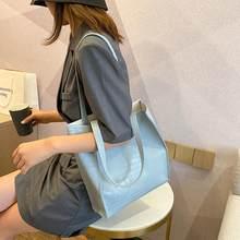 Borsa a tracolla Tote da donna portatile trama classica Design creativo Chic durevole PU borsa da Shopping per signora di grande capacità