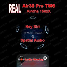 1562X Air30 Pro ANC TWS True Light Sensor Real Voice Assistant Wireless Earphone Audio Sharing Bluetooth 5 0 Earphone Earbuds cheap SNZIYAG In-Ear Dynamic CN(Origin) True Wireless 14mm For Mobile Phone Sport NONE User Manual Charging case Charging Cable