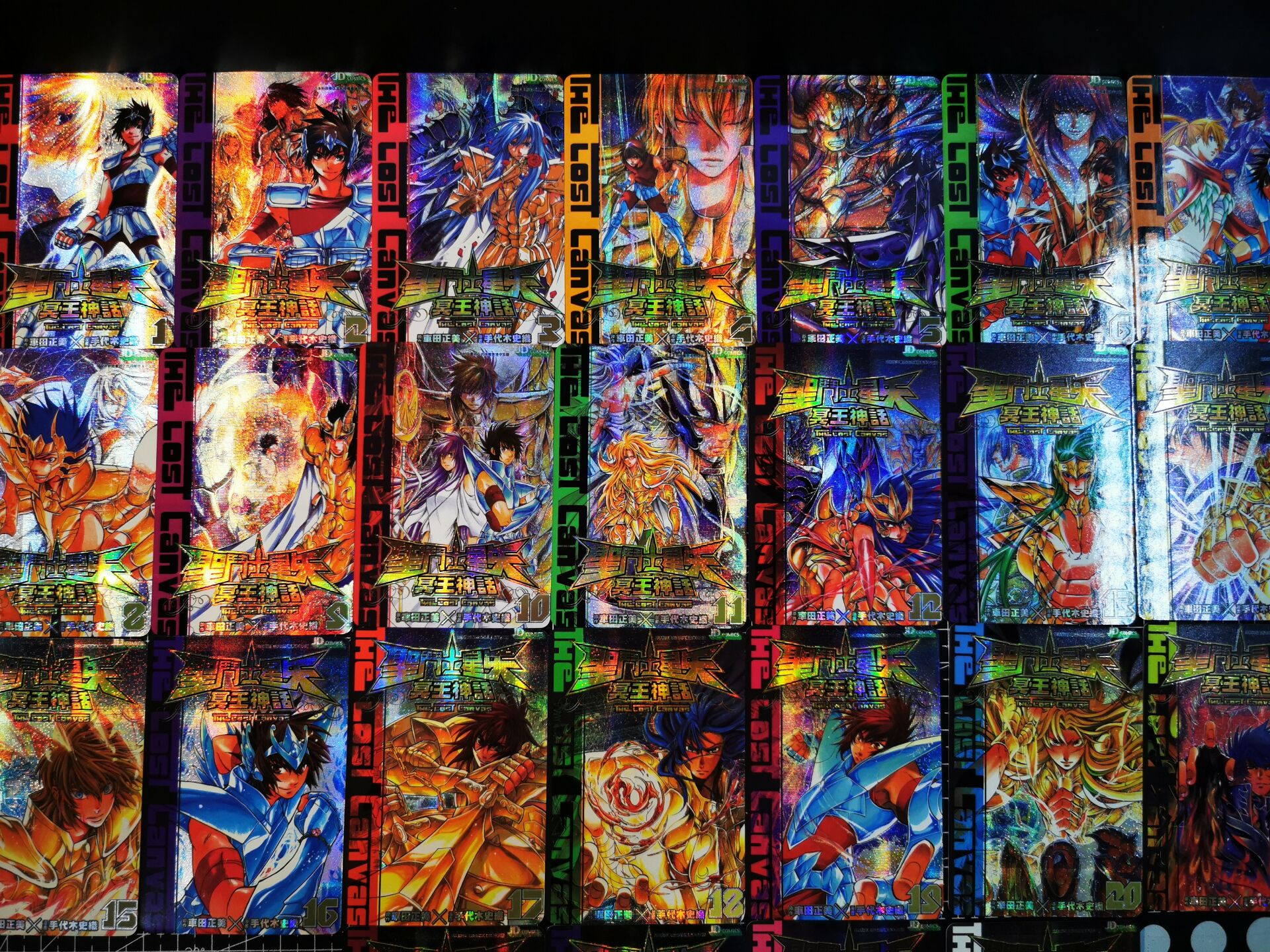 27pcs/set Saint Seiya Toys Hobbies Hobby Collectibles Game Collection Anime Cards