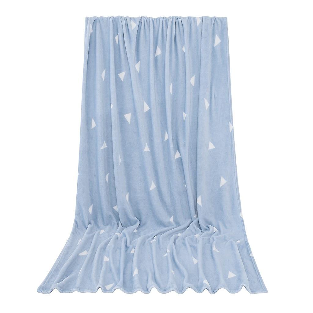 High Quality Blanket Super Fleece Soft Warm Solid Warm Micro Plush Flannel Star Blanket Throw Rug Sofa Bedding Bedspread Winter-1