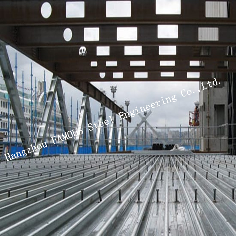 Bondek Alternative Structural Steel Deck For Concrete Construction Formworks