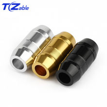 3x Splitter For Earphone Wire Hole 4.3mm Aluminum Alloy Black Silver Gold For Headphone Upgrade Cable Prevent Scratching of Wire