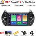 DSP Android 10 Auto dvd Stereo Radio GPS Navigation Für Fiat Fiorino Qubo Citroen Nemo Peugeot Bipper 2008-2017 Auto multimedia