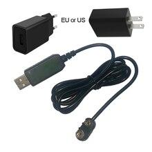 9V pil Eliminator USB kablosu 5V Boost 9V gerilim dönüştürücü Step up Volt transformatörü DC güç regülatörü hattı multimetre için