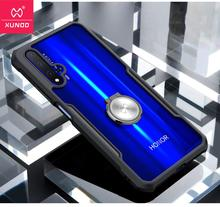 Xundd Luxury Clear Cover for Huawei Nova 5T чехол with Airbags Shockproof Back Cover чехол for Huawei honor 20 Pro 30 Pro Funda