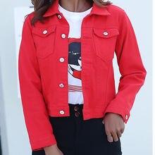 Джинсовая куртка и пальто для женщин 2020 Осенняя повседневная