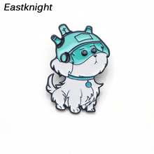 цена CA294 Rick and Morty Dogs Funny Metal Enamel Pins and Brooches for Women Men Lapel Pin backpack bags badge Collection Gifts онлайн в 2017 году