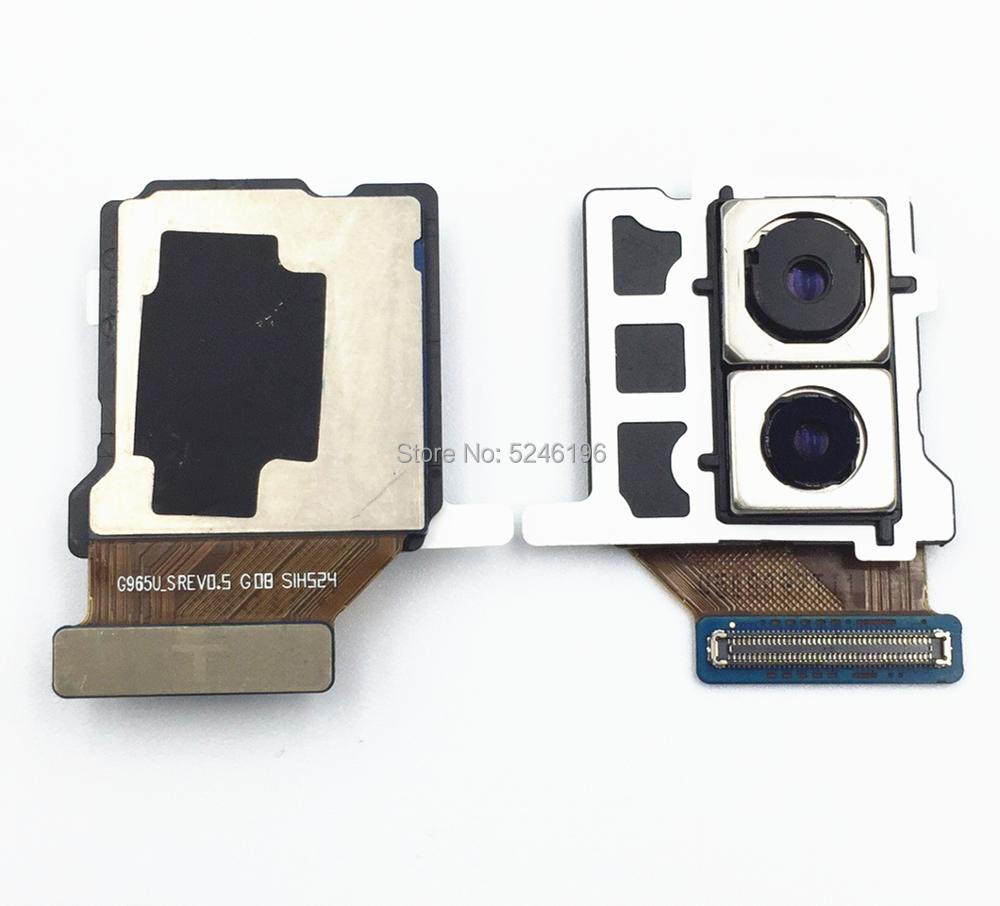For Samsung Galaxy S9 Plus SM-G965U G965U Original Back Rear Big Main Camera Module Flex Cable Replacement Parts