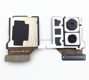 Image 1 - لسامسونج غالاكسي s9 plus SM G965U G965U الأصلي عودة الخلفية كبيرة الرئيسية كاميرا وحدة فليكس قطع غيار الكابل